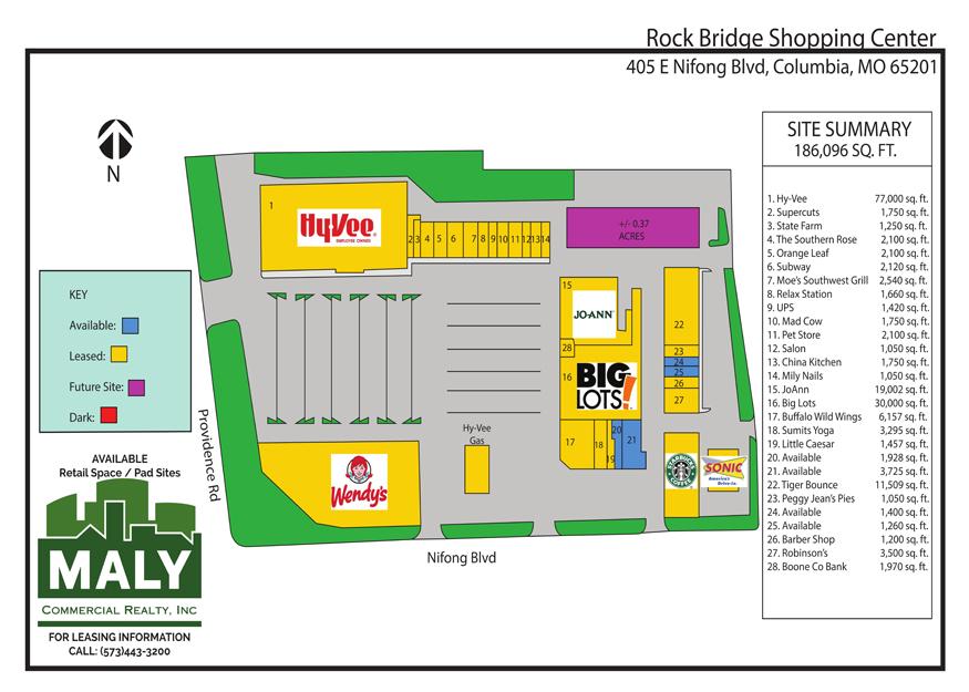 Rock Bridge Shopping Center- Unit 25