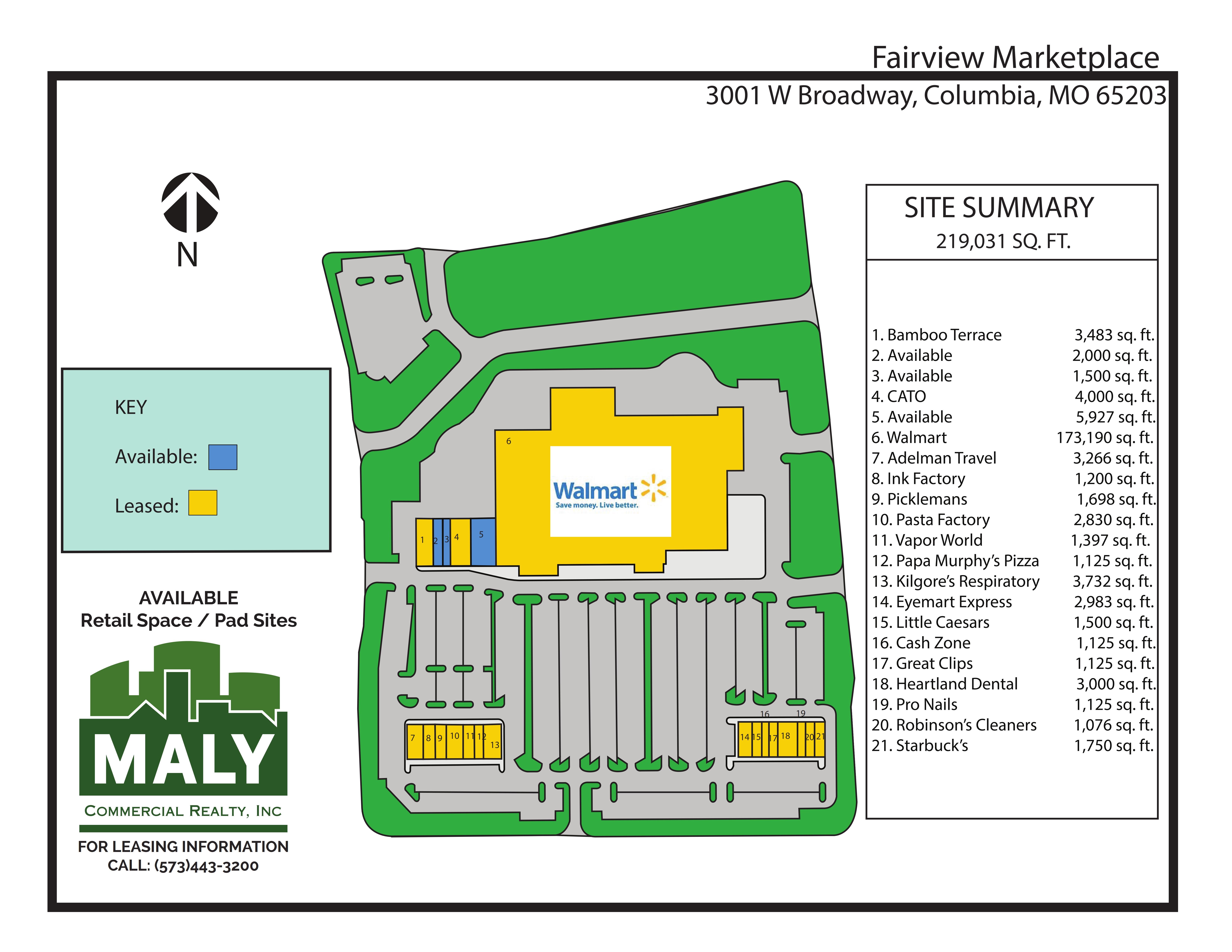 Fairview Marketplace – Unit 3