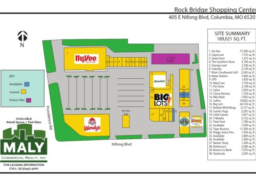 Rock Bridge Shopping Center – Unit 22