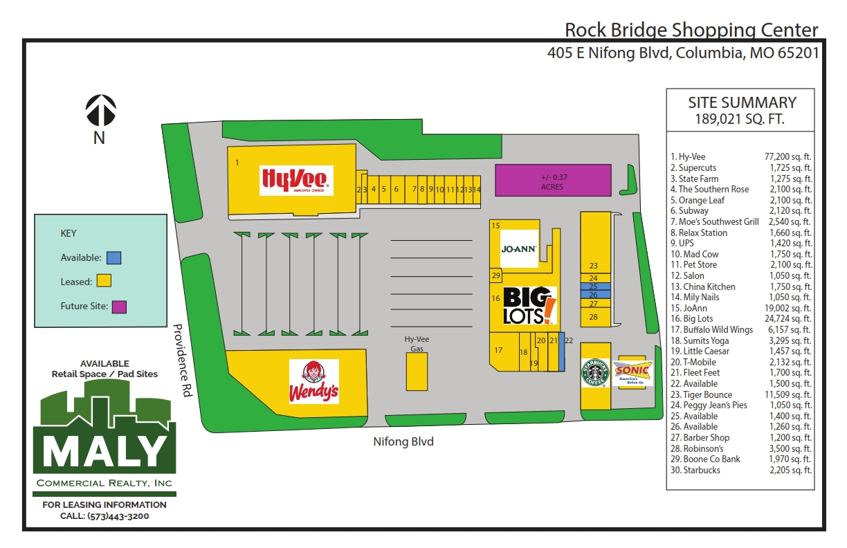 Rock Bridge Shopping Center – Unit 25