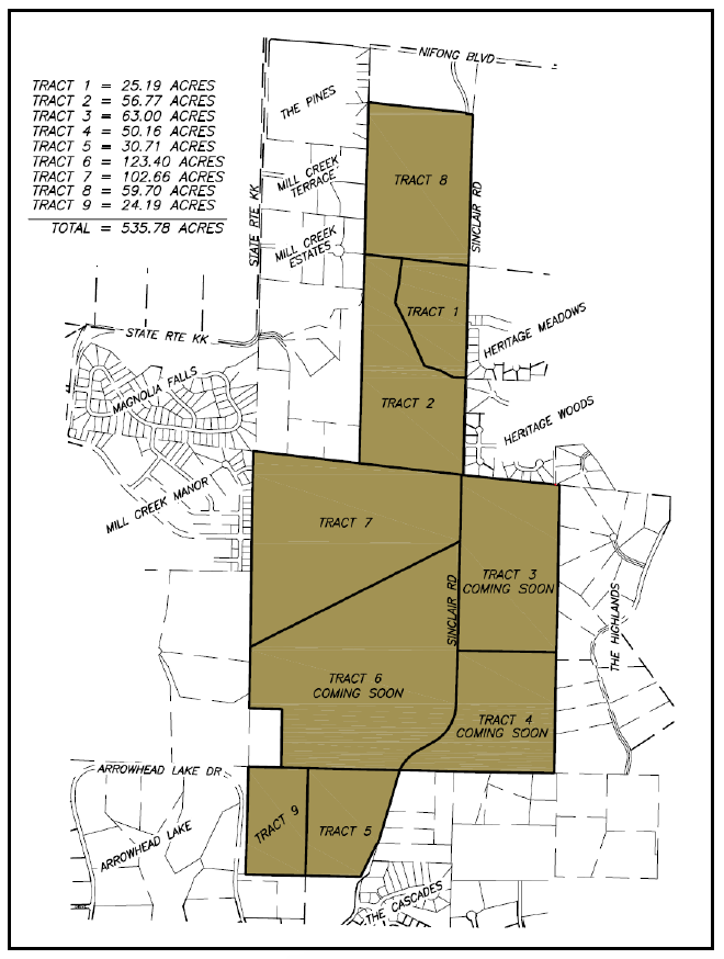 Tract Map