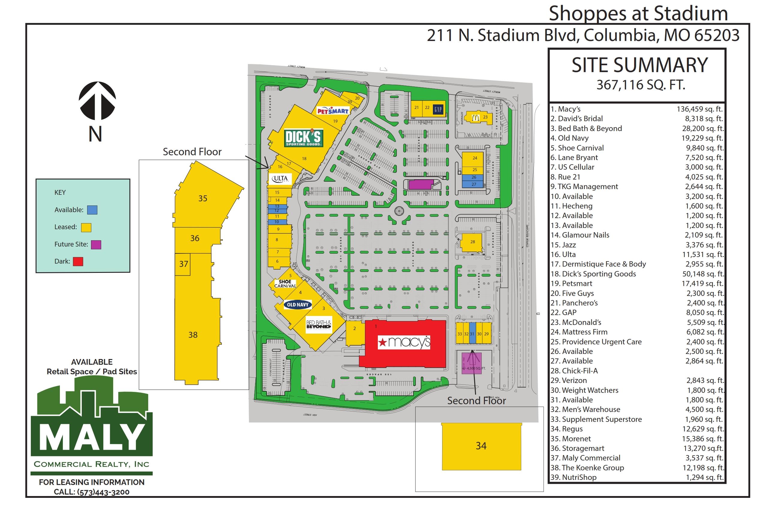 Shoppes at Stadium – .77 acres