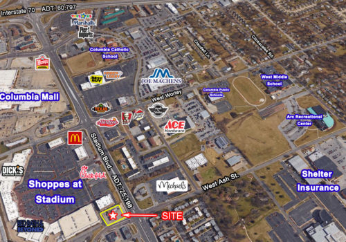 Shoppes at Stadium – .77 acres