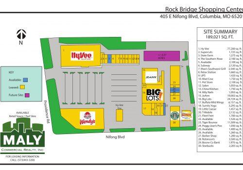 Rock Bridge Shopping Center – Unit 22