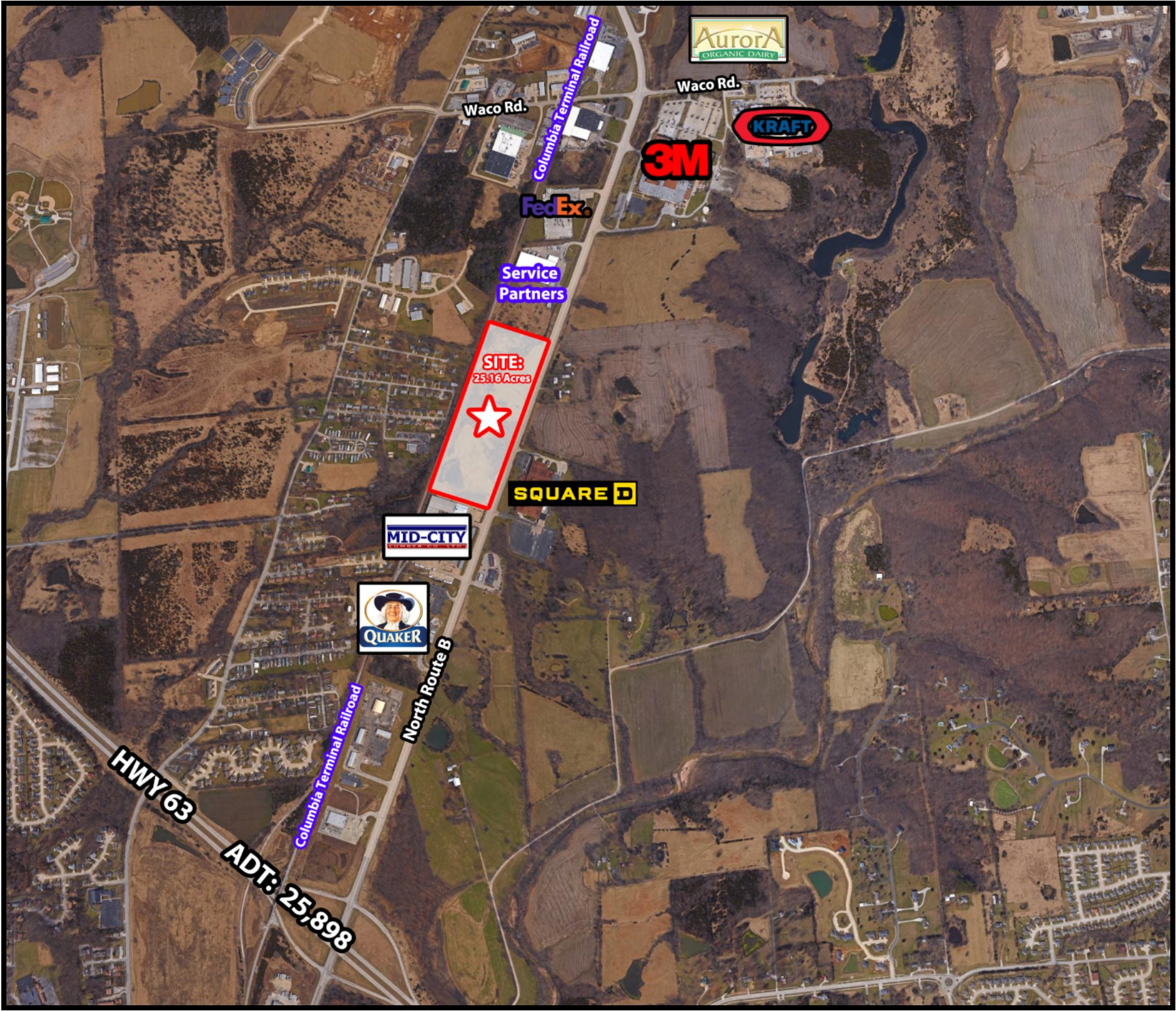 Hinshaw West- 4901 Paris Road (Route B)