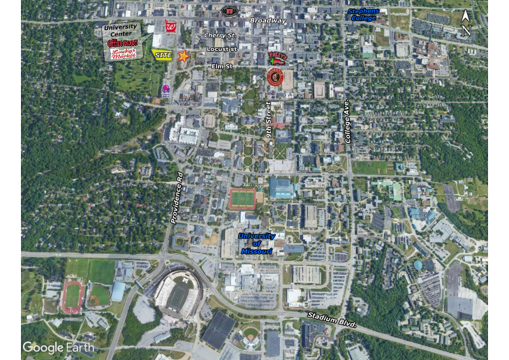 University Center- .90 Acre Pad Site