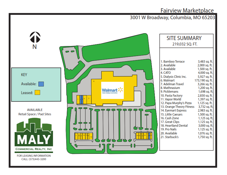 Fairview Marketplace- Unit 2&3