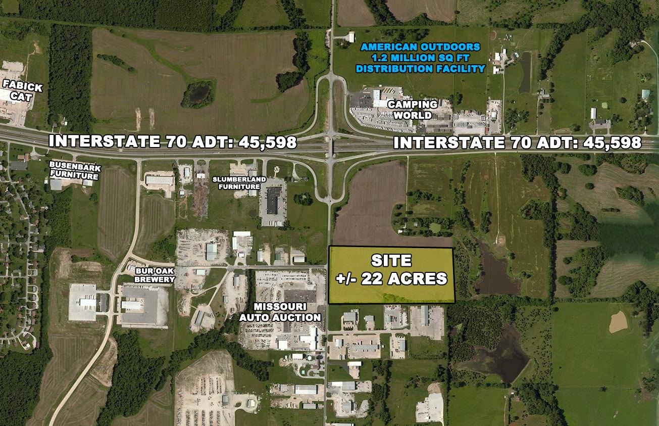 I-70 Drive SE & Route Z