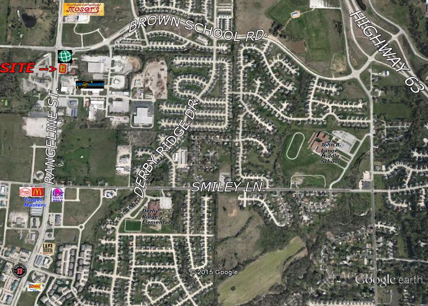 Brown School Road & Hwy 763