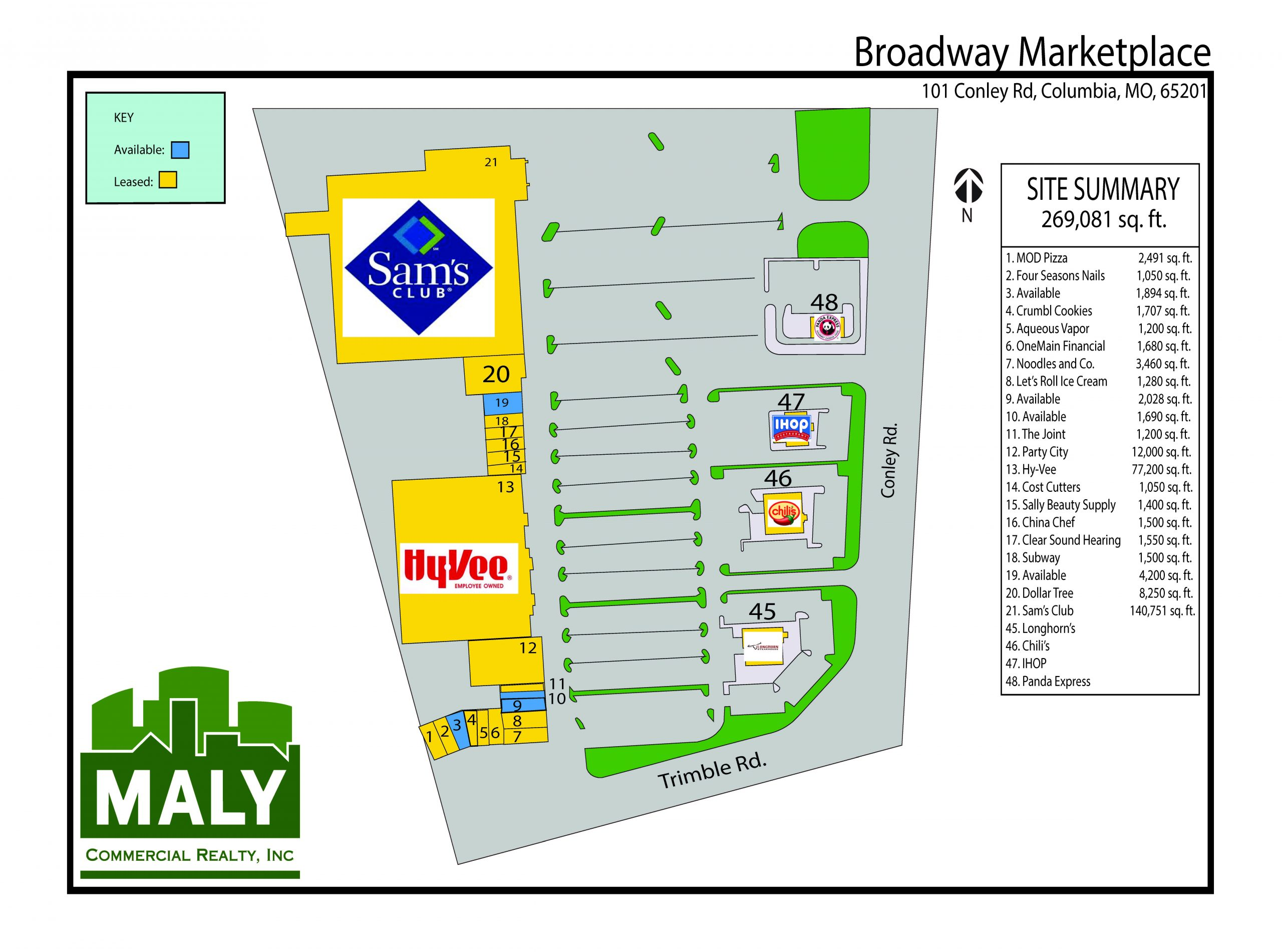Broadway MarketPlace- .98 Acre Pad Site 1