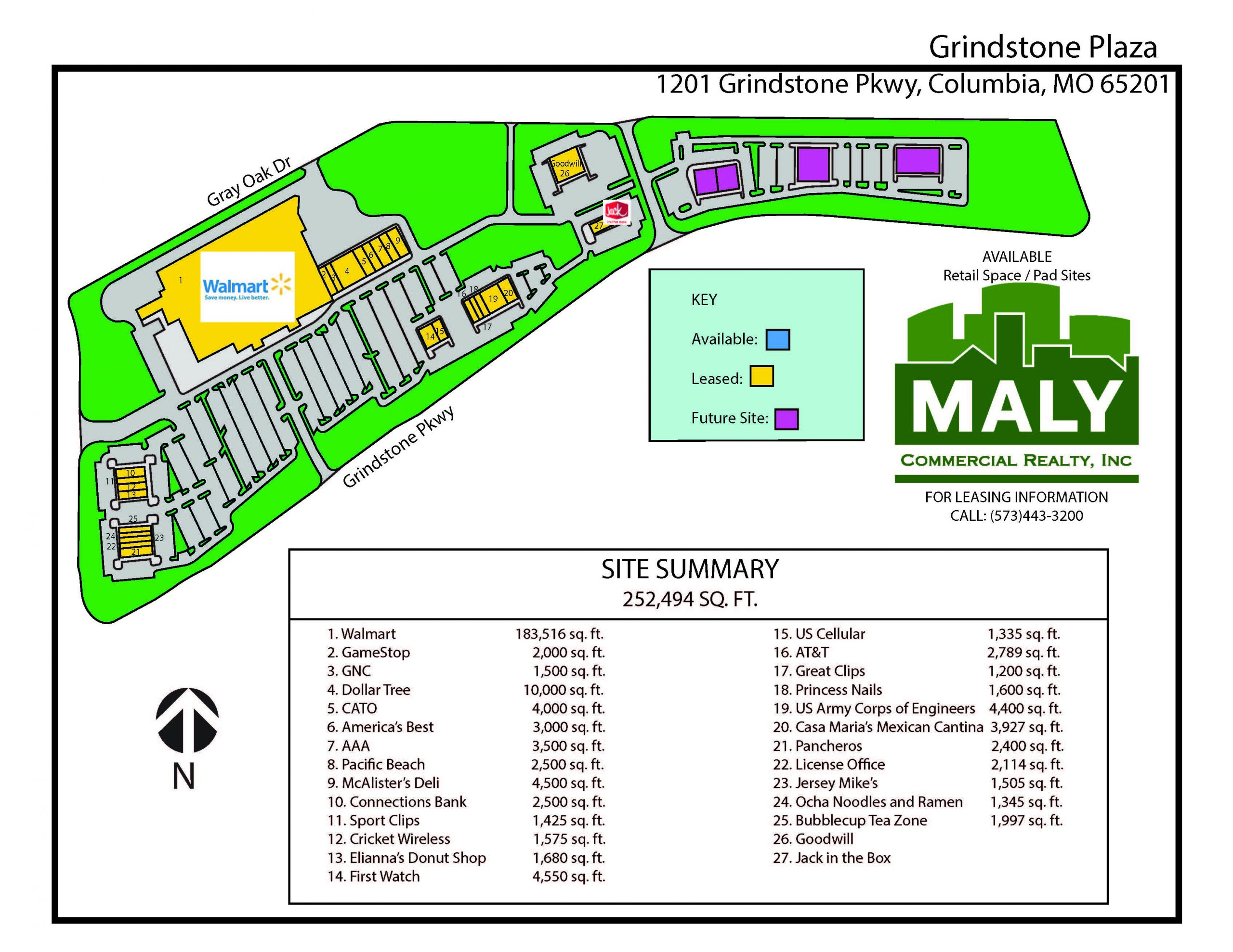 Grindstone Plaza- 1-3 Acre Pad Sites