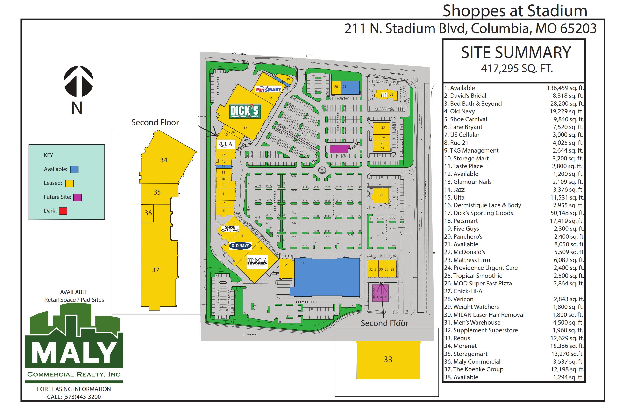 Shoppes at Stadium – Unit 21