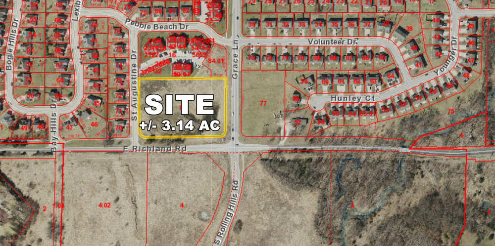 3.14 Acres-Richland Road & Grace Lane