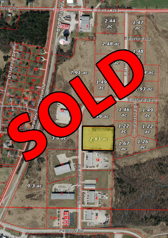 Ewing Industrial Lot 6-2.83 Acres