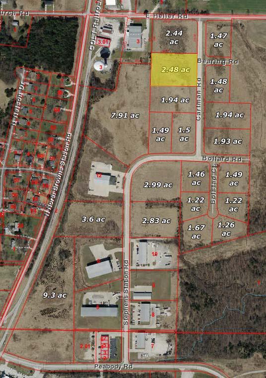 Ewing Industrial Lot 13-2.48 Acres