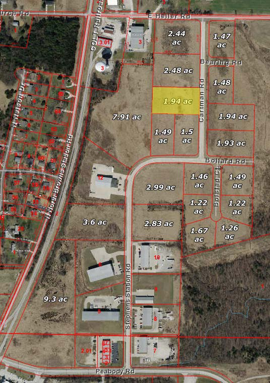 Ewing Industrial Lot 14-1.94 Acres