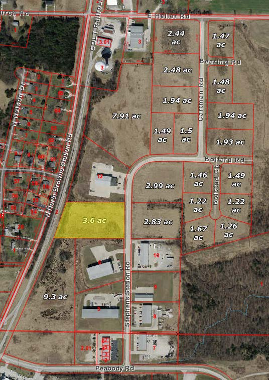 Ewing Industrial Lot 19-3.6 Acres