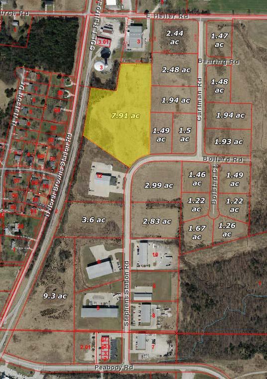 Ewing Industrial Lot 20-7.91 Acres