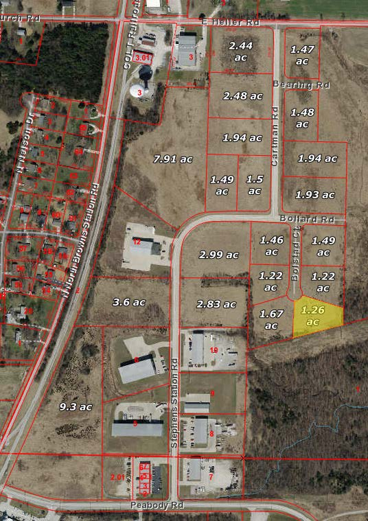 Ewing Industrial Lot 3-1.26 Acres