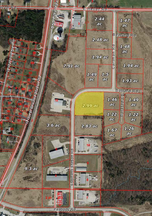 Ewing Industrial Lot 7-2.99 Acres
