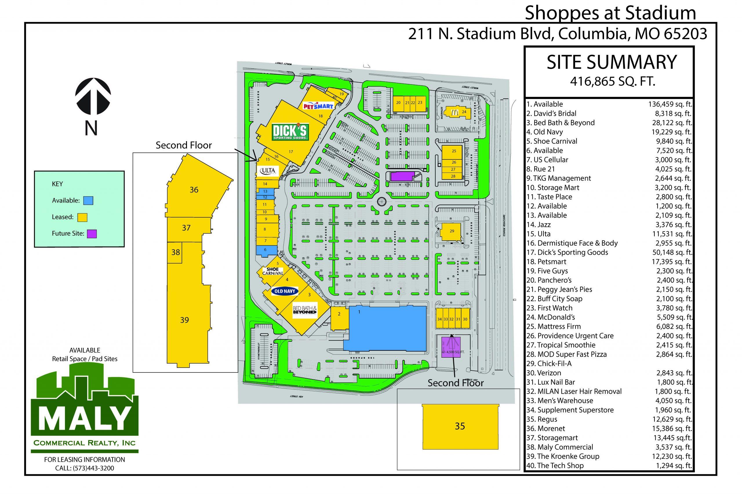215 N. Stadium Blvd., Suite 109