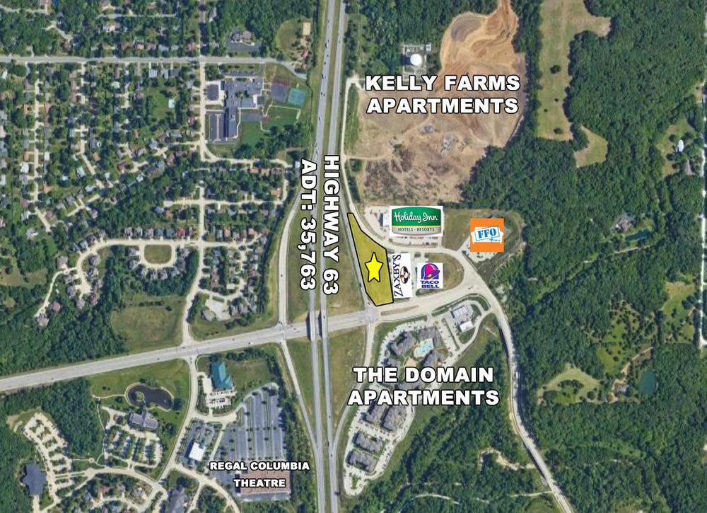 Prime QSR/Retail Site off Highway 63 & Stadium Blvd.