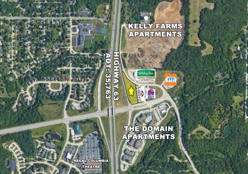 Prime QSR/Retail Site off Highway 63 & Stadium Blvd.